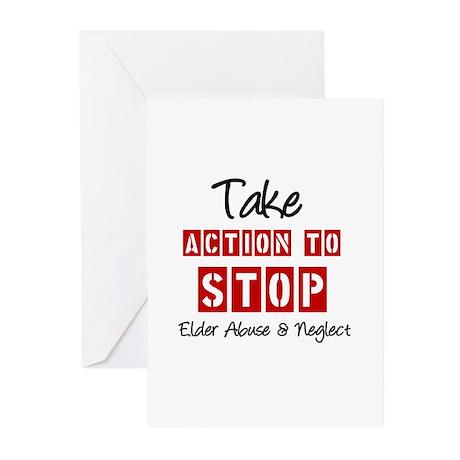 Elder Abuse Awareness Greeting Cards (Pk of 10)