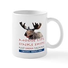 Moose Lips Sinks Ships Mug