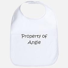 Cute Property of angie Bib