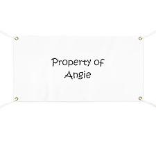 Unique Angie Banner