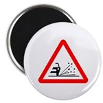 "Loose Gravel Sign - 2.25"" Magnet (10 pack)"