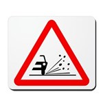 Loose Gravel Sign - Mousepad