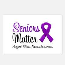 Elder Abuse (Seniors Matter) Postcards (Package of