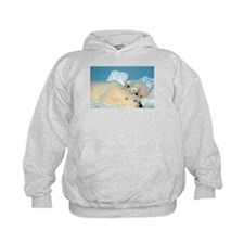 Lazy Polar Bears Hoodie
