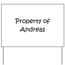 Cute Andrea Yard Sign