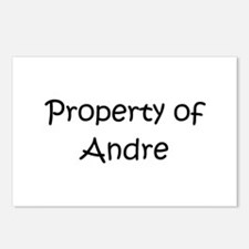 Cute Andre Postcards (Package of 8)