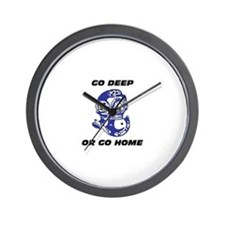 Unique Deep diving Wall Clock