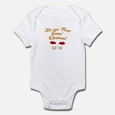 Our First Twins' Christmas Infant Bodysuit