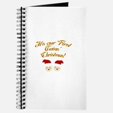 Our First Twins' Christmas Journal
