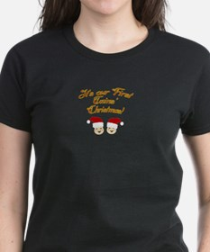 Our First Twins' Christmas Tee