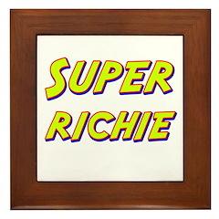 Super richie Framed Tile