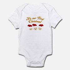 Our First Christmas! Infant Bodysuit