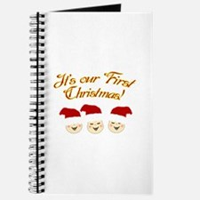 Our First Christmas! Journal