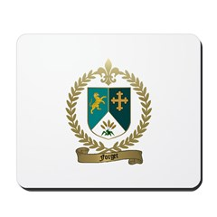 FORGET Family Crest Mousepad