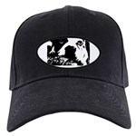 sad dog Black Cap