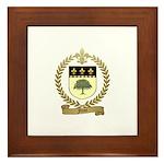 FORET Family Crest Framed Tile