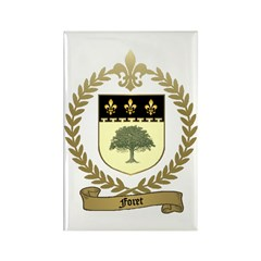 FORET Family Crest Rectangle Magnet (100 pack)
