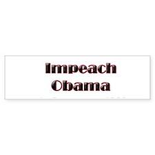 Impeach Obama Bumper Sticker -