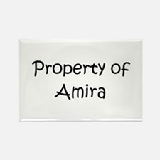 Cute Amira Rectangle Magnet