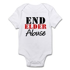End Elder Abuse Infant Bodysuit