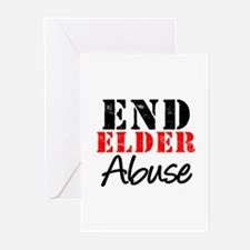 End Elder Abuse Greeting Cards (Pk of 10)