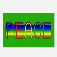 Peace Rainbow Postcards (Package of 8)