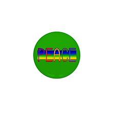 Peace Rainbow Mini Button (10 pack)