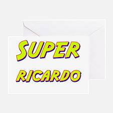 Super ricardo Greeting Card