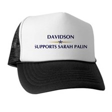 DAVIDSON supports Sarah Palin Trucker Hat