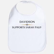 DAVIDSON supports Sarah Palin Bib