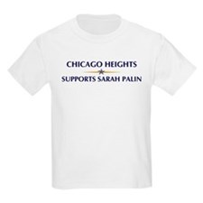 CHICAGO HEIGHTS supports Sara T-Shirt