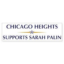 CHICAGO HEIGHTS supports Sara Bumper Bumper Sticker