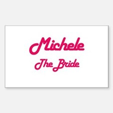Michele - The Bride Rectangle Decal