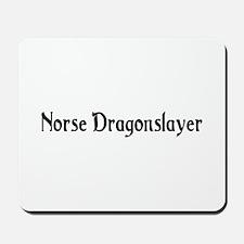 Norse Dragonslayer Mousepad