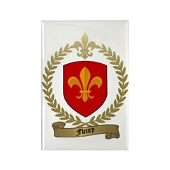 FLEURY Family Crest Rectangle Magnet (10 pack)