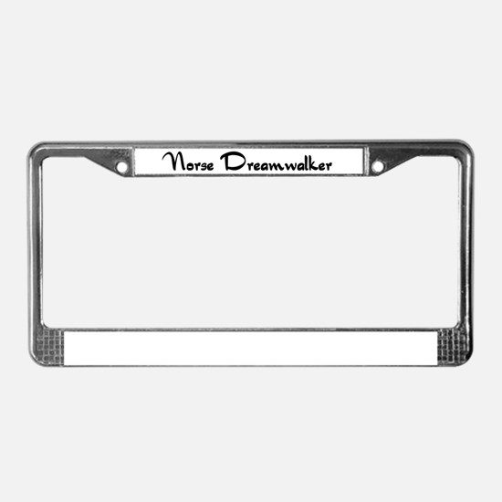 Norse Dreamwalker License Plate Frame