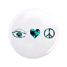 "I Heart Peace 3.5"" Button"