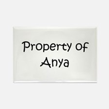 Cute Anya Rectangle Magnet