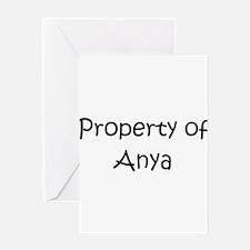 Cute Anya Greeting Card