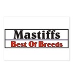 Mastiff Best Of Breeds Dog Postcards (Package of 8