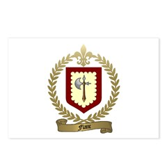 FLANC Family Crest Postcards (Package of 8)
