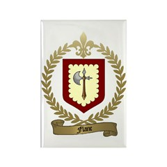 FLANC Family Crest Rectangle Magnet