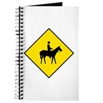 Horse and Rider Sign - Journal