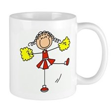 Red Cheerleader Small Mug