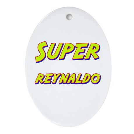 Super reynaldo Oval Ornament