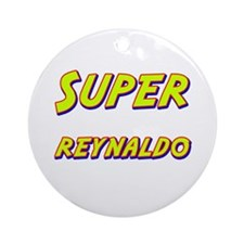 Super reynaldo Ornament (Round)