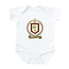 FLAN Family Crest Infant Creeper