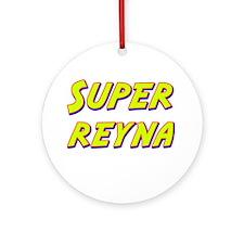 Super reyna Ornament (Round)