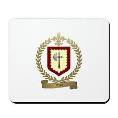 FLAN Family Crest Mousepad