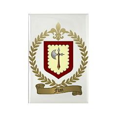 FLAN Family Crest Rectangle Magnet (100 pack)